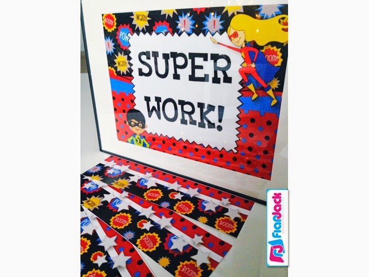 http://www.teacherspayteachers.com/Product/SUPERHERO-Themed-Classroom-Decor-Materials-Pack-1260023