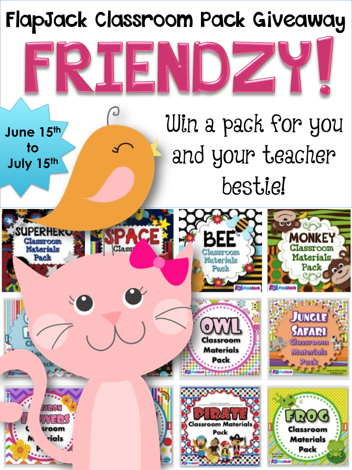 Classroom Decor Pack Giveaway FRIENDZY