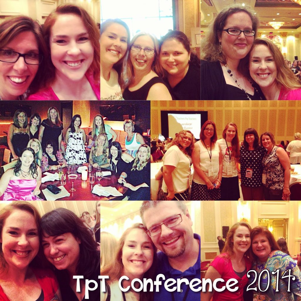 TpT 2014 Conference Recap and Time Mat Giveaway