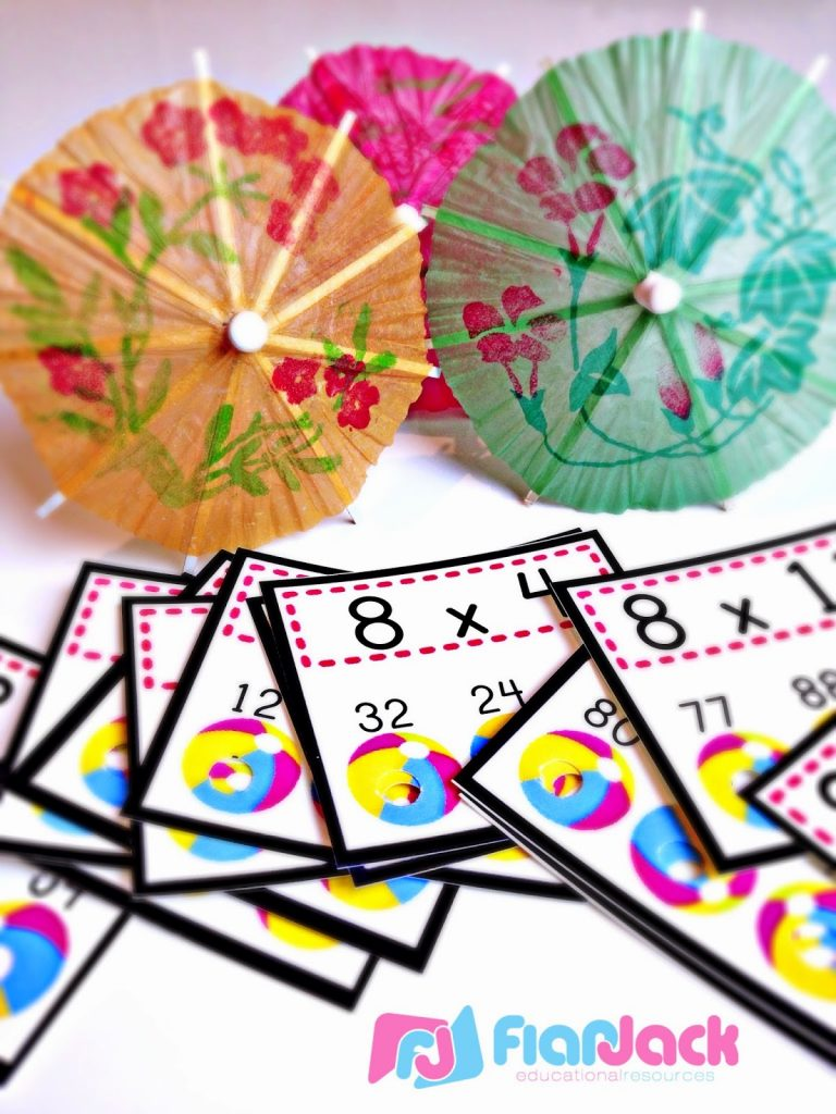 http://www.teacherspayteachers.com/Product/Multiplication-Facts-Beach-Ball-Poke-FREE-250336