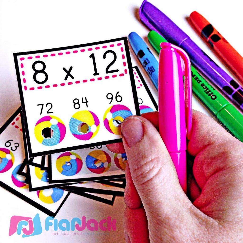 http://www.teacherspayteachers.com/Product/Multiplication-Facts-Beach-Ball-Poke-FREE-250336