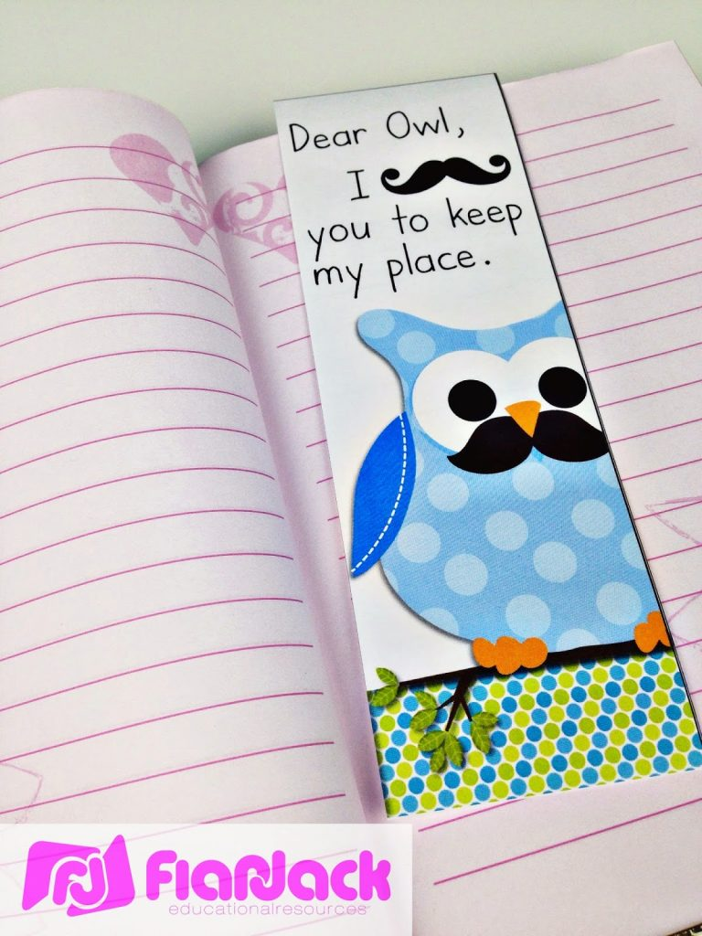 http://www.teacherspayteachers.com/Product/MUSTACHE-MOUSTACHE-OWL-Bookmark-FREEBIE-1298648