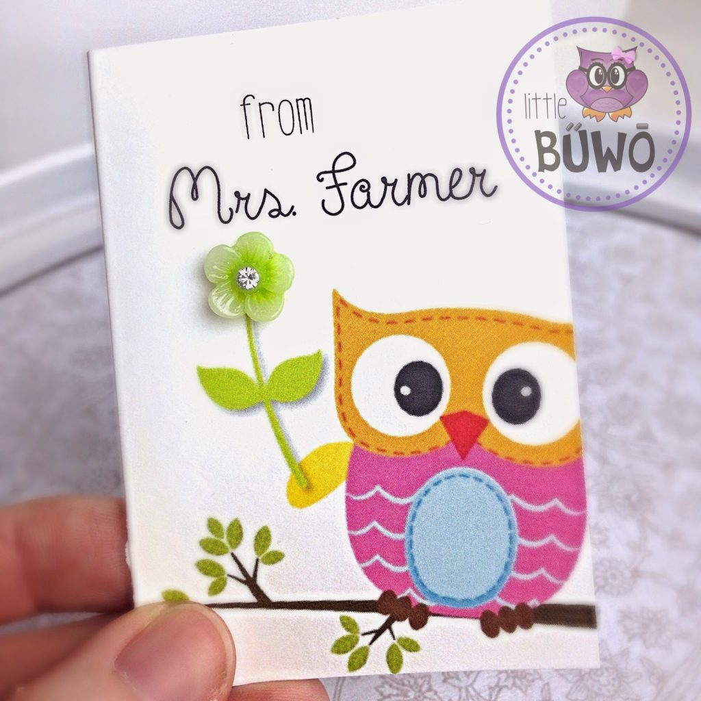 My Etsy Dream – Personalized Owl Mini Cards Giveaway!