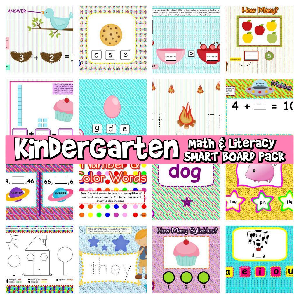 http://www.teacherspayteachers.com/Product/Kindergarten-Common-Core-Based-Math-and-Literacy-SMART-BOARD-Game-Pack-192521