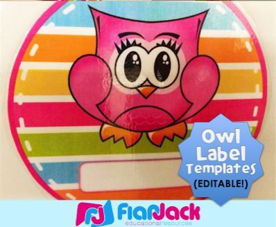 http://flapjackeducation.com/2013/08/hanging-editable-owl-circle-templates.html