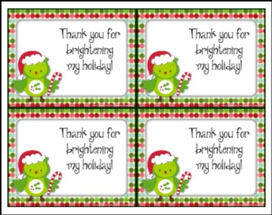 http://www.teacherspayteachers.com/Product/FREE-Holiday-Christmas-Thank-You-Cards-also-in-Spanish-459604