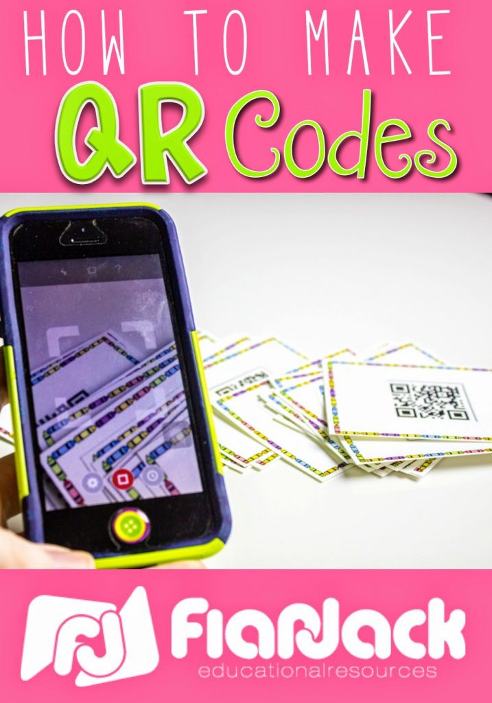How to Make QR Codes for Your Teacher Creations
