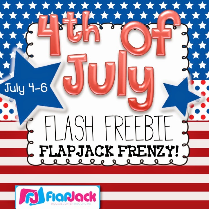 Fourth of July Flash Freebie Frenzy at FlapJack!