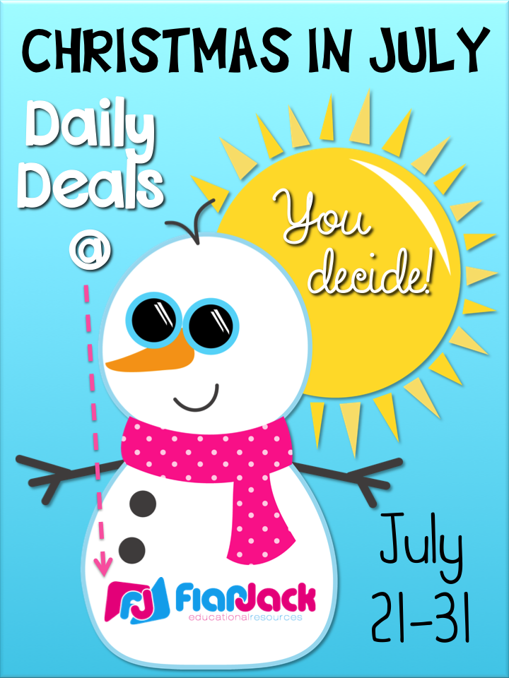 Christmas in July FlapJack Daily Deals!