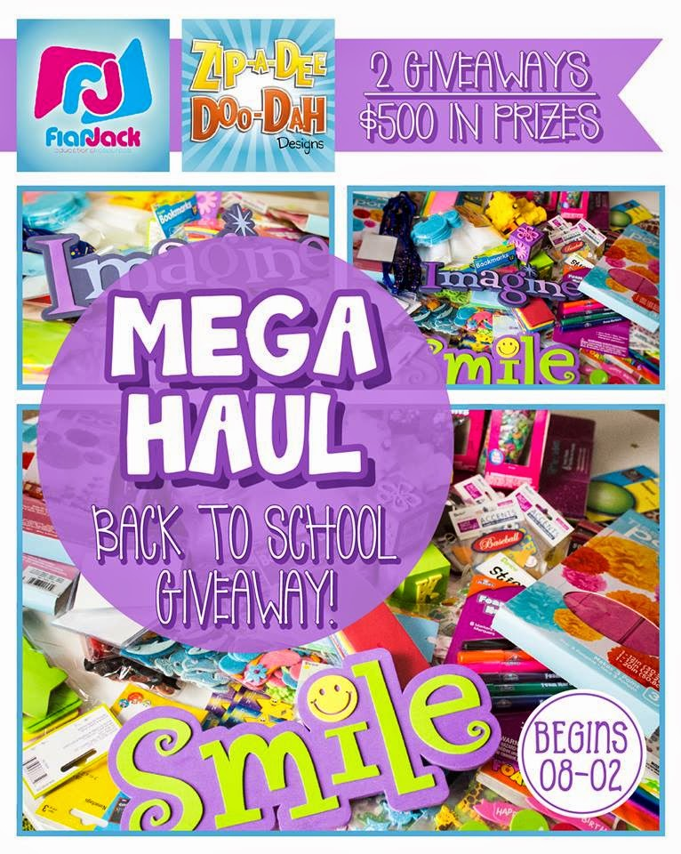 Back to School Mega Haul GIVEAWAY!