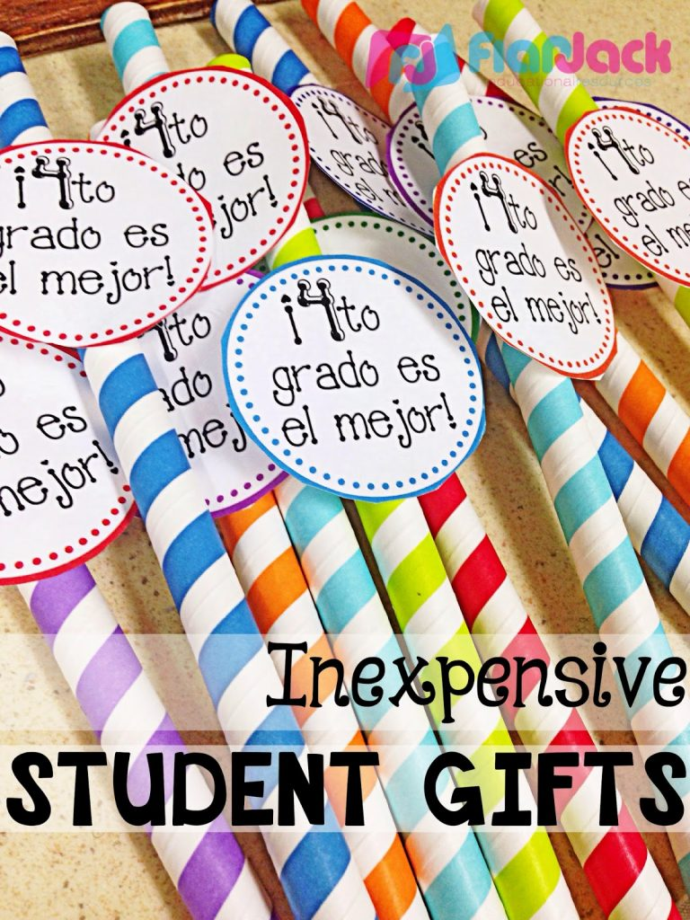 Inexpensive, Minimal Prep Student Gift BRIGHT IDEAS for Large Numbers