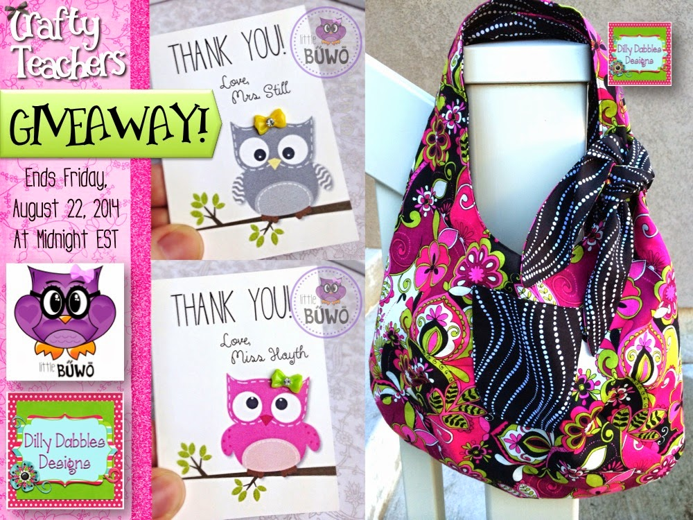 Crafty Teachers Giveaway – It's Fabulous!