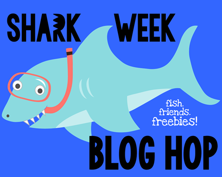 Free Shark Themed Morning Work Templates