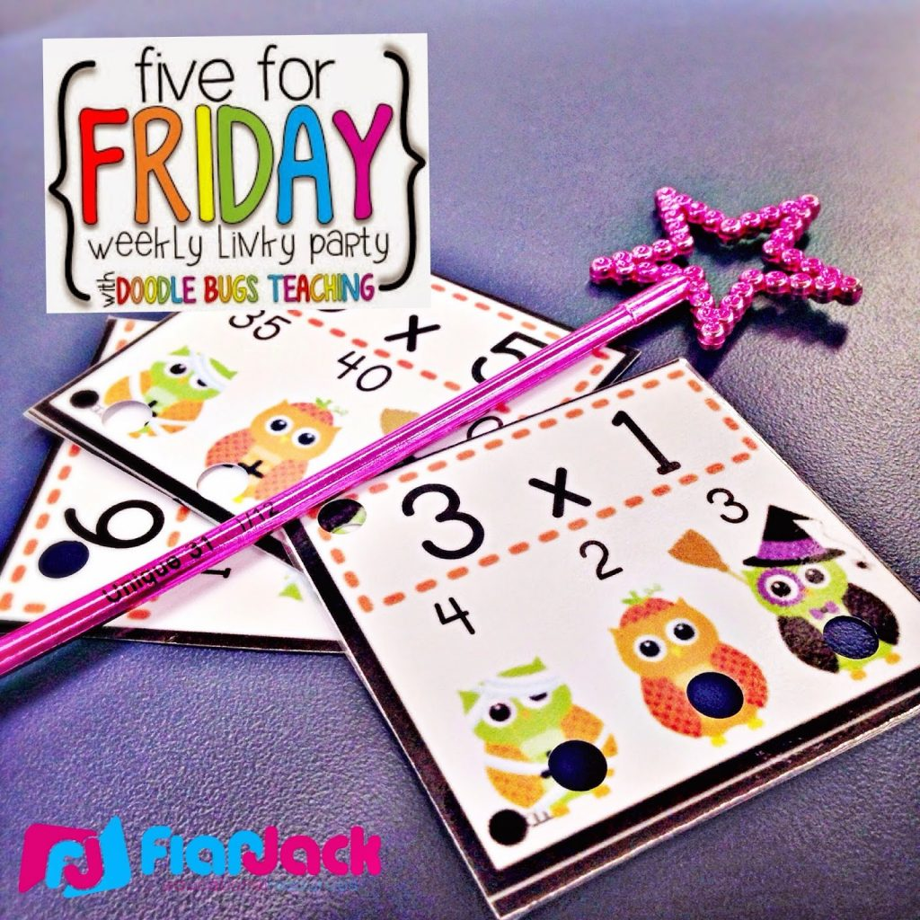 5 For Friday – Fall Math Centers