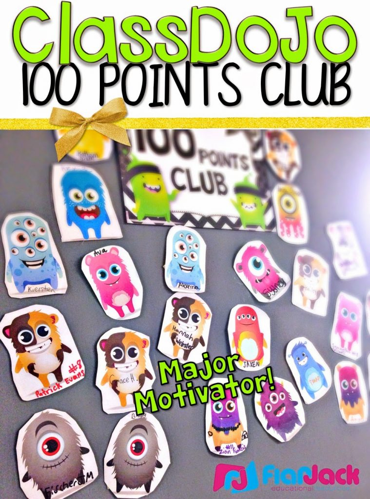 ClassDoJo 100 Points Club
