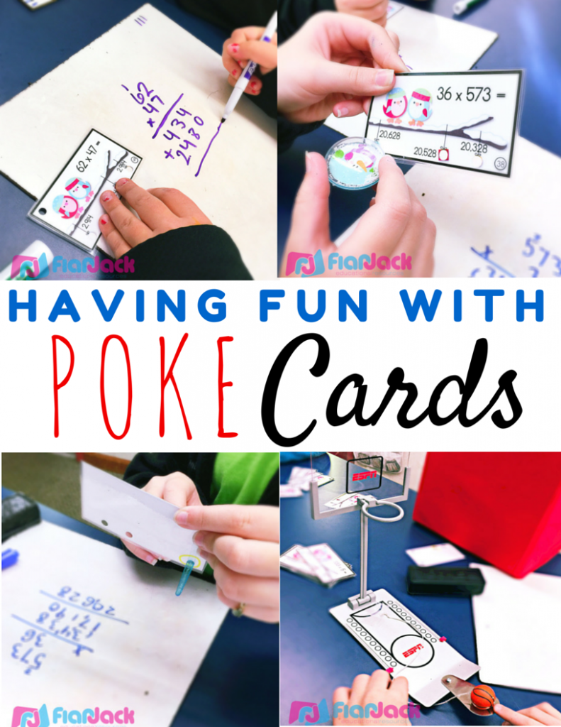 Having Fun with Poke Cards (Freebie Included!)