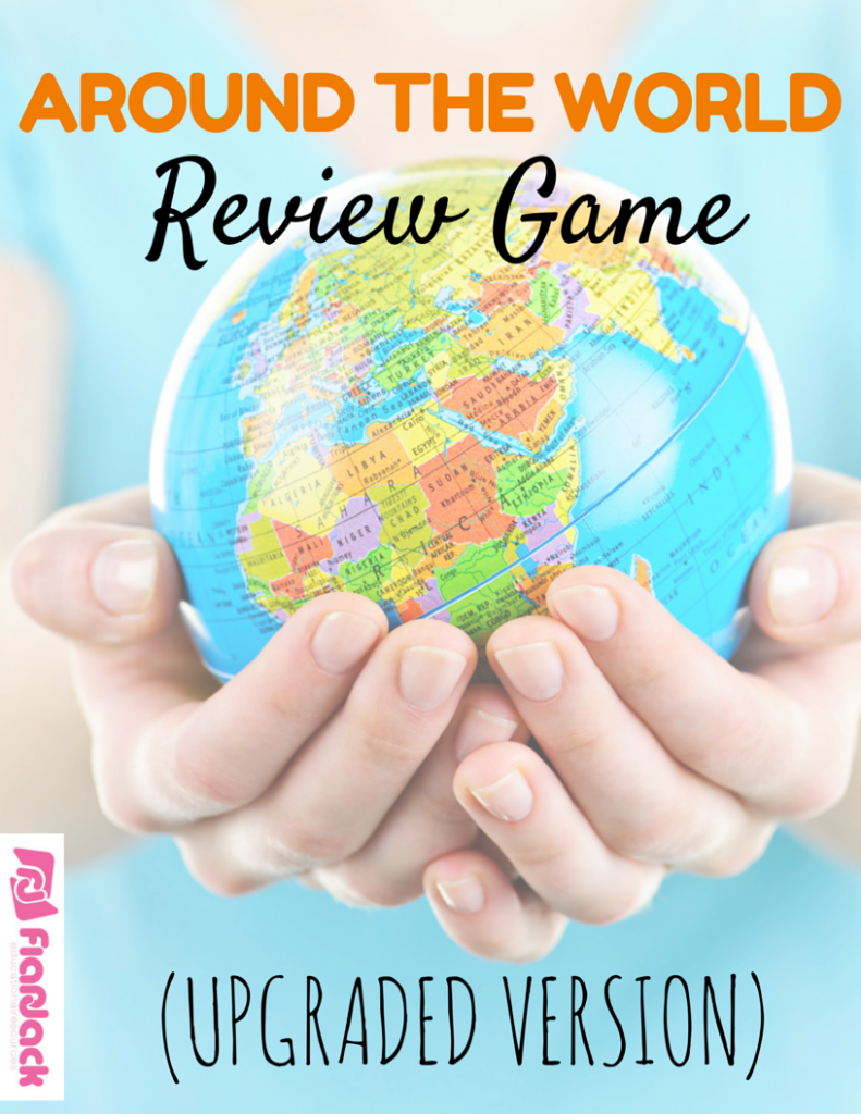 Around the World Review Game (Upgraded Version)