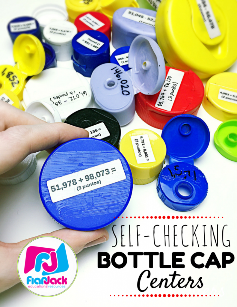 Self-Checking Bottle Cap Centers