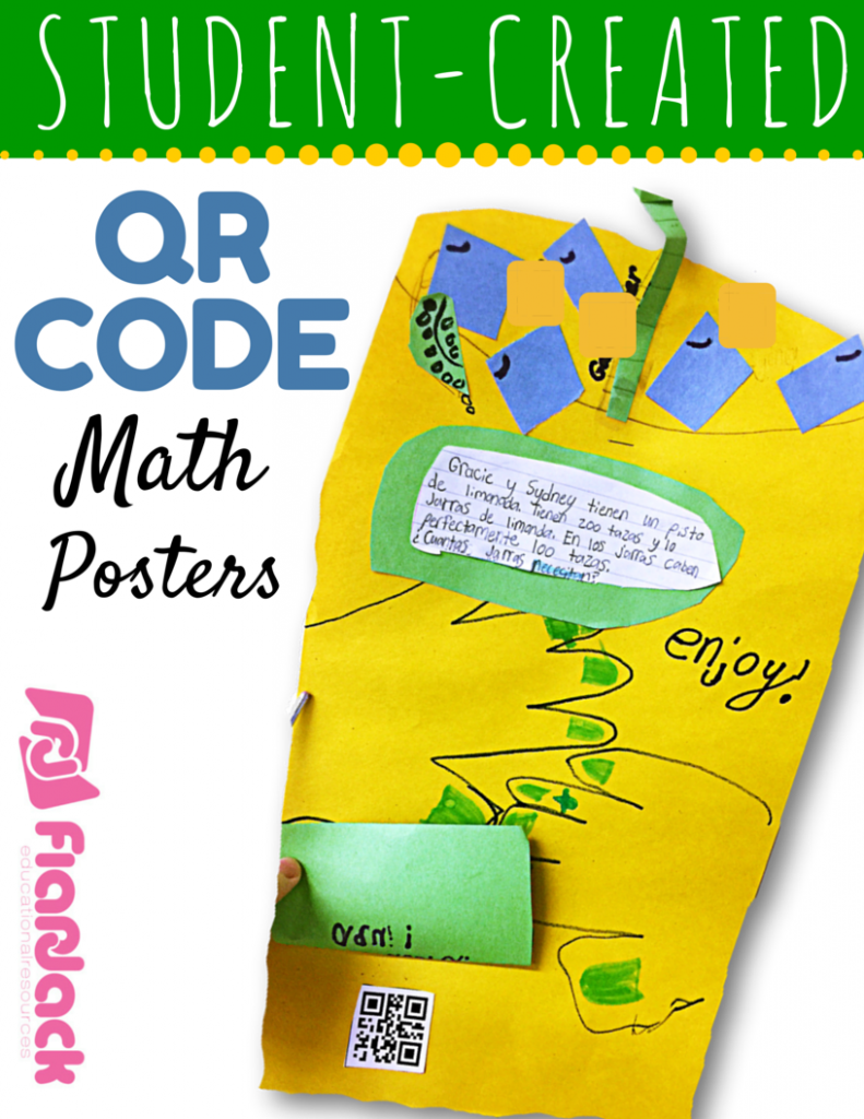 Student-Created QR Code Math Posters Tutorial