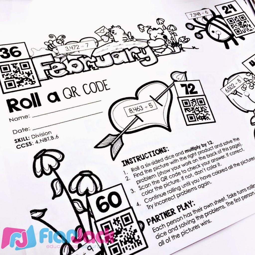 https://www.teacherspayteachers.com/Product/4th-Grade-February-QR-Code-Printables-Low-Prep-1673670