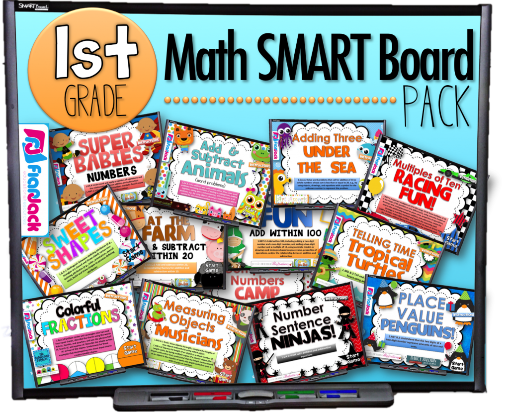 First Grade Smart Board Games