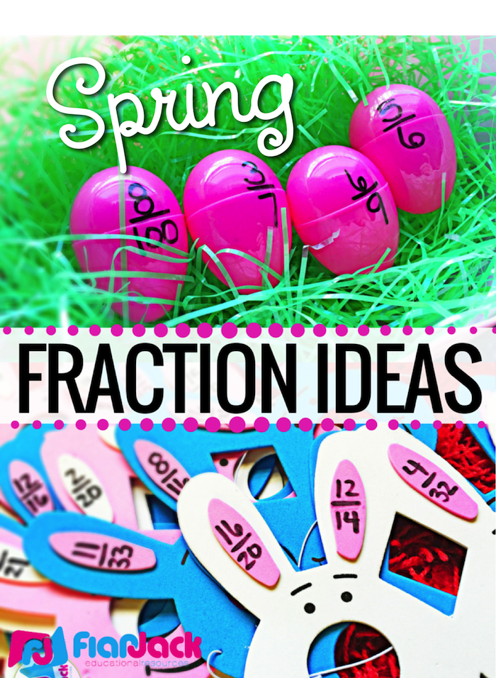 Spring Fraction Ideas