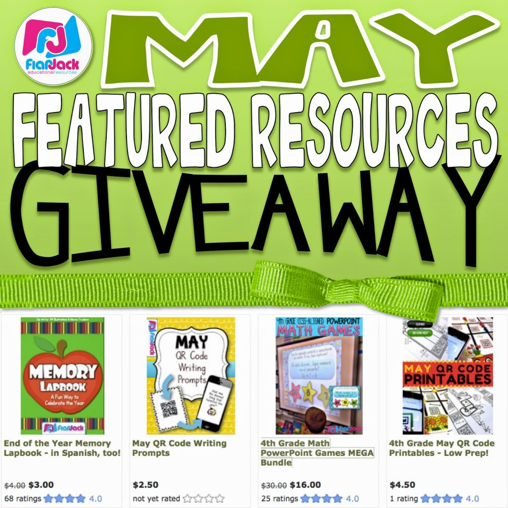 May Featured Resources Giveaway!