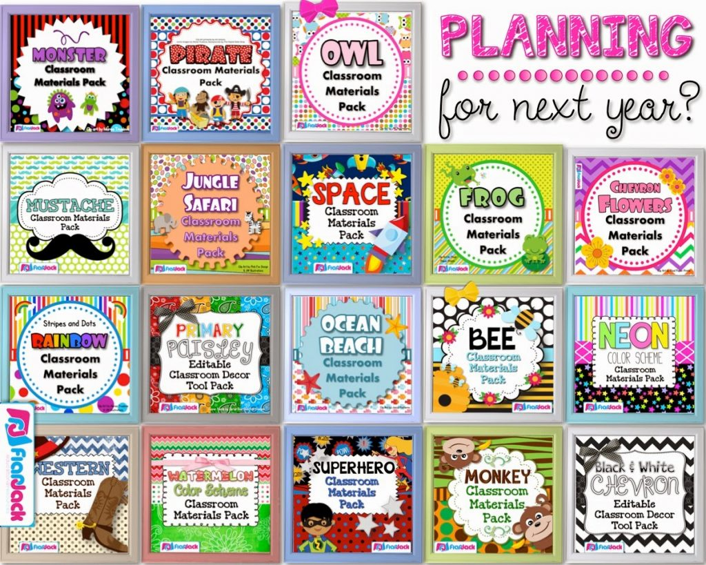 Classroom Decor Pack Giveaway!