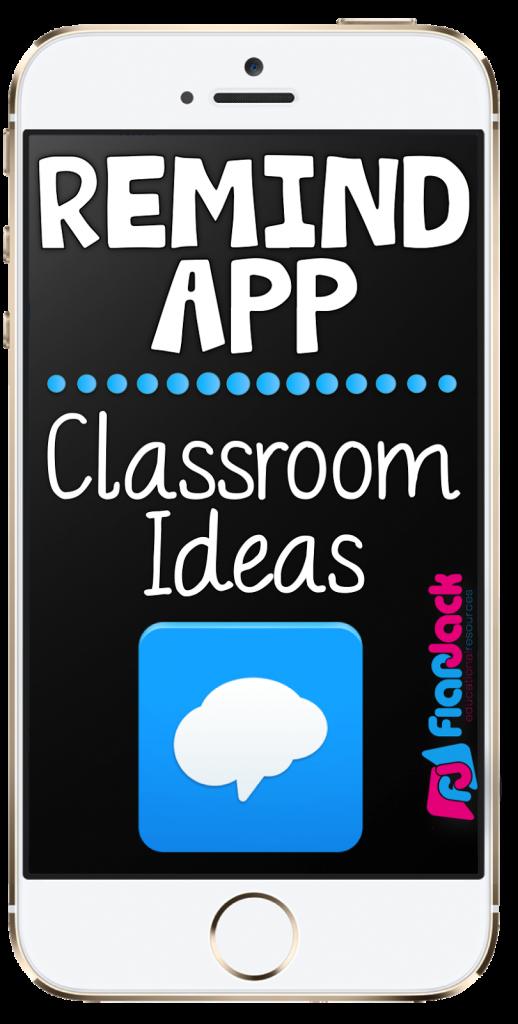Remind App Classroom Ideas