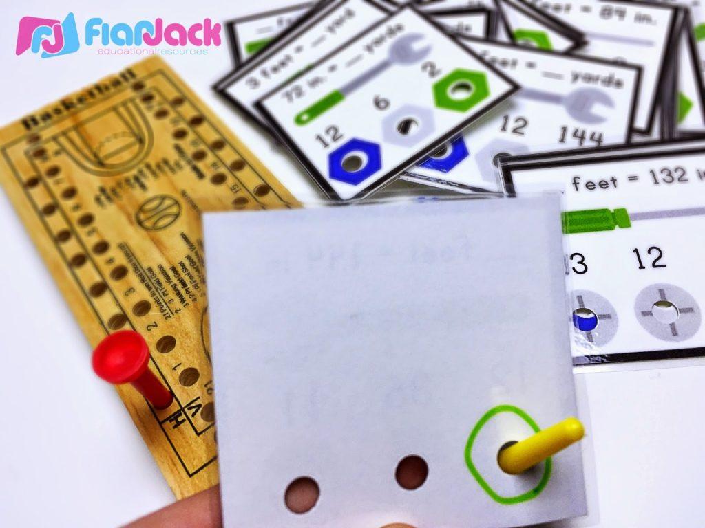 https://www.teacherspayteachers.com/Product/Upper-Elementary-Math-Poke-Card-Bundle-1603150