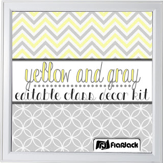 https://www.teacherspayteachers.com/Product/Editable-Yellow-Gray-Class-Decor-Kit-1883157