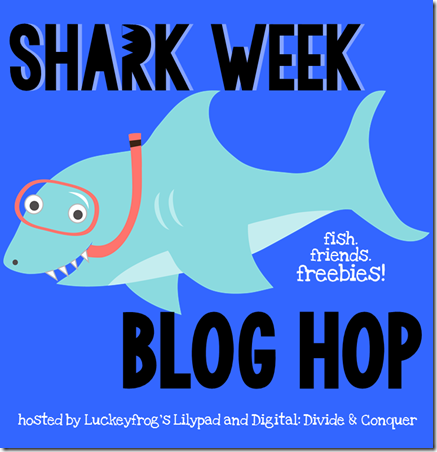 Shark Week Blog Hop