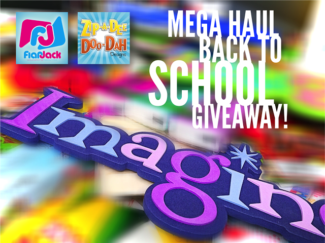 The 2015 Mega Haul Back To School TEACHER Giveaway!