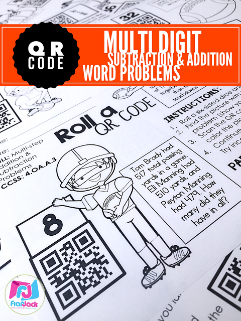 Football QR Code Freebie and October Printables Ready!