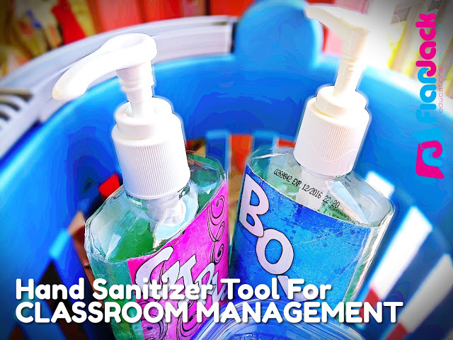 Hand Sanitizer Classroom Management Tool Freebie