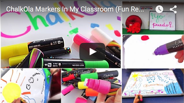 ChalkOla Markers In My Classroom (a fun review)