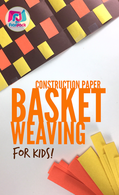 How To Basket Weave With Construction Paper (a kid-friendly tutorial)