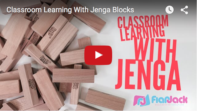 Classroom Learning With Jenga Blocks
