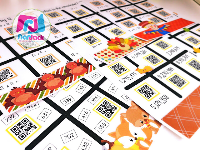 November QR Code Printables Pack