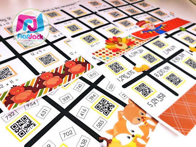 November QR Code Printables Pack