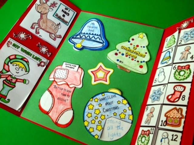 http://www.teacherspayteachers.com/Product/Christmas-Holiday-Lapbook-172325