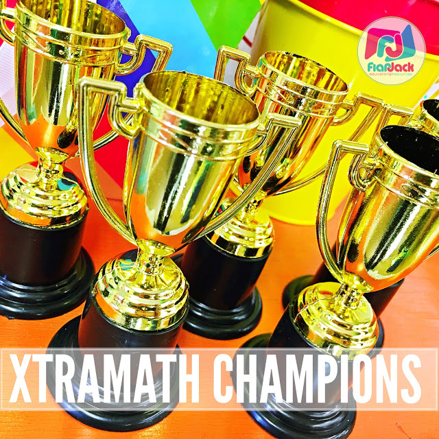 XtraMath Champion Trophies – Math Facts Fluency Fun!