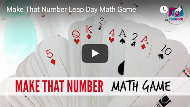 Make That Number Leap Day Math Game