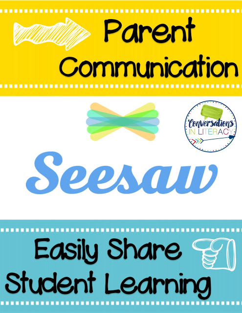 SeeSaw App for Parent Communication – Guest Post by Conversations in Literacy
