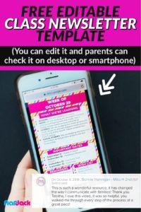 Free Editable Digital Newsletter